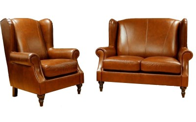 Queen Ann 2 Seater and Chair