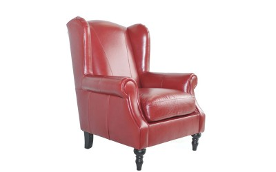 Queen Ann Chair Red 01